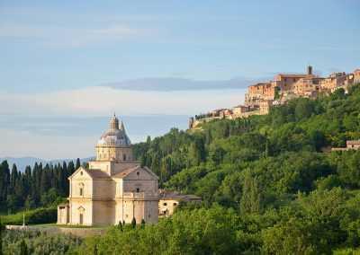 Kirche von Madonna di San Biagio Montepulciano