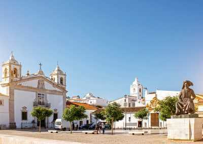 Altstadt Santa Maria Portugal
